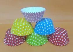 Polka Dot Cupcake Liner