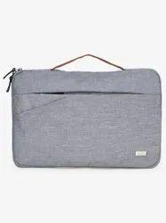 Grey Denim Laptop Bags