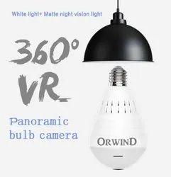 Wifi LED Bulb Camera