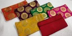 Mahara sankranthi Silk  gift Pouch