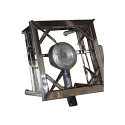 1 SS Square Commercial Single Burner Gas Stove, Size: 18x18