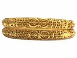 Designer Imitation Brass Golden Bangles