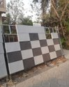 White And Black Outdoor Paris Rock Tiles