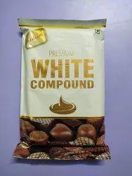 Goldsmith Chocolate Premium White Milk Compound, Packaging Size: 500 Gm