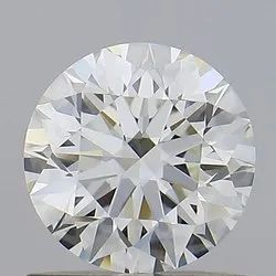 0.70ct Round K VS1 GIA Certified Natural Diamond