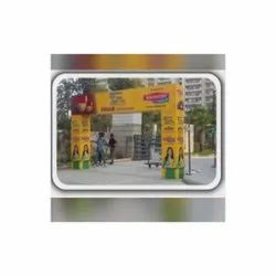 Flex 240 GSM Front Gate Advertising Banners