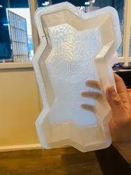 Silicone Plastic Zig Zag Paver Mould