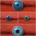 Painted Iris Buttons