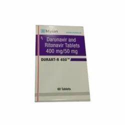 Darunavir and Ritonavir 400 mg / 50 mg