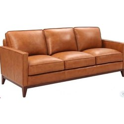 Brown Designer Leather Sofa, For Home,Hotel