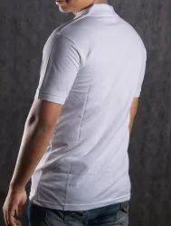 Cotton Collar T Shirt