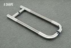 GLASS S.S.  MAIN DOOR PULL HANDLE