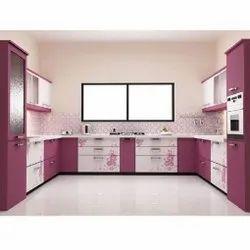 U Shaped Theme Modular Kitchen