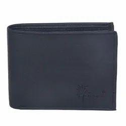 9 Card Slot Hawai Men Black Artificial Leather Wallet