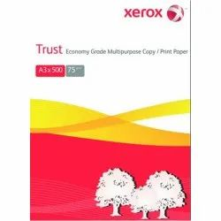 White 75 Xerox Trust Paper, Packaging Size: 500 Sheets per pack, Packaging Type: Packet