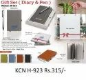 Gift Set Diary And Pen