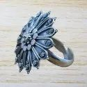 925 Sterling Plain Silver Jewelry New Fashion Adjustable Ring