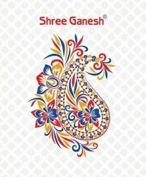 Multicolor Shree Ganesh Pranjul Cotton Dress Material, For Regular