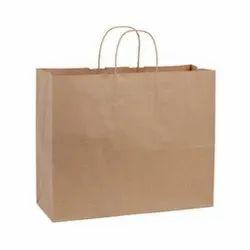 Plain Brown Kraft Paper Bags