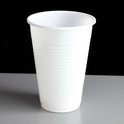 White Plain 180 ML Plastic Disposable Glass, For Event and Party Supplies