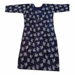 Regular Casual Wear Printed Cotton Kurti
