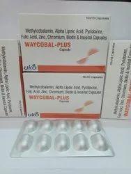 Methylcobalamine, Alpha Lipoic Acid, Pyridoxine, Folic Acid, Zinc, Chromium, Biotin & Inositol