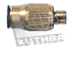 Straight Adaptor  - Metric Thread