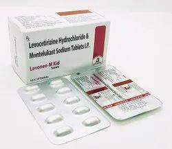 Levocetirizine Hydrochloride Montelukast Sodium Tablet