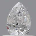 0.40 Pear D VVS1 GIA Certified Natural Diamond