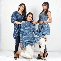Hand Block Printed Beautiful Ladies Dress