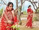 Sangam Prints Red Rose Pure Silk Printed Saree Catalog