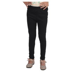 Plain kids cotton lycra leggings