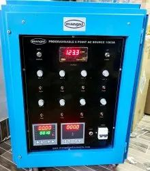 mangal Compact Programmable multipoint Ac Power Source, Input Voltage: 230 V, Output Voltage: 90 Volts To 400 Volts