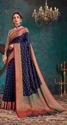 Fancy Designer Top Dayed Saree