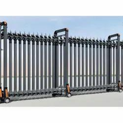 Mild Steel Sliding Industrial Gates
