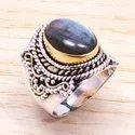 925 Sterling Solid Silver Jewelry Carnelian Gemstone Designer Ring SJWR-175