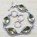 Pearl Gemstone 925 Sterling Silver Beautiful Jewelry Bracelet SJWBR-270