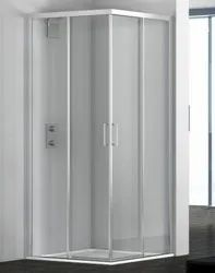 Hinged Plain Toughened Glass Sliding Door, For Home, Thickness: 5 Mm