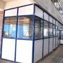 Aluminium Partition, For Office, Thickness: 5mm