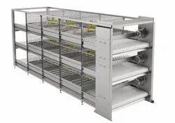 Pullets and broilers growing cage