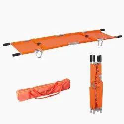 Four Folding Stretcher With Carry Bag