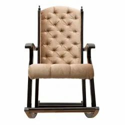 Ministra Heavy Rocking, Premium Aaram Chair for Big & Tall , Smooth swing Living Room Chair
