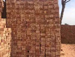 Clay Rectangular Red Bricks, Size: 9 X 4 X 3 Inch