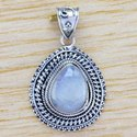 Black Onyx Gemstone Handmade Sterling Silver 925 Jewelry Pendant