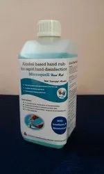 Microquell Hand Rub Skin Antiseptic (Disinfectant), For Hospitals, Type Of Packing: Plastic Bottle