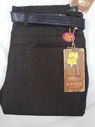 Flat Trousers Regular Men Casual Cotton Pant, Size: 28-36