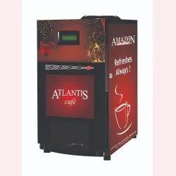 Atlantis Cafe Plus 3 Lane Hot Beverage Vending Machine With Dedicated Hot Water Option