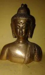 Tibetan Brass Buddha Statue