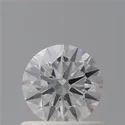 Round 0.60ct D VS1 Natural HPHT GIA Certified Natural Diamond
