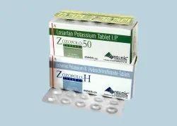 Losartan Potassium 50mg + Hydrochlorothiazide 12.5mg